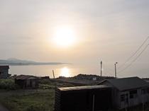 【客室からの景色】津軽海峡が目の前に広がります