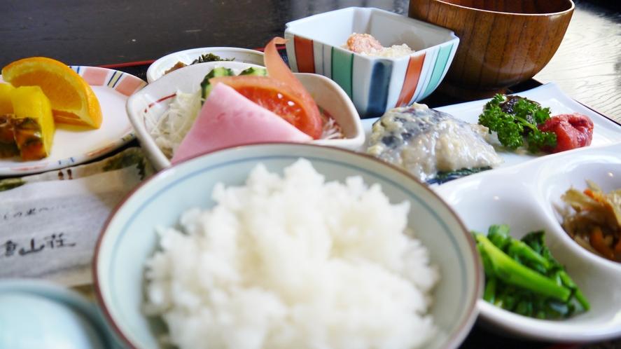 ★朝食/一例