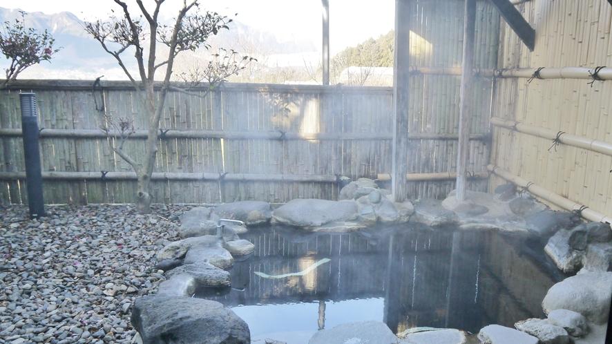 ☆本館 客室露天風呂☆冬