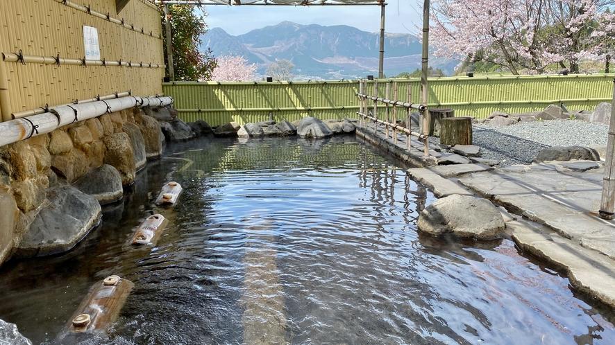 ☆大浴場露天風呂☆桜