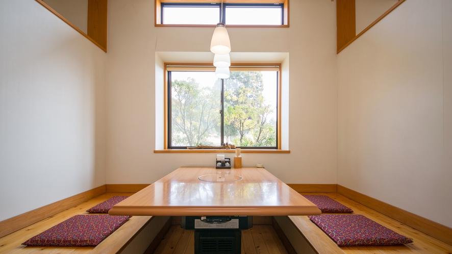 お食事処五岳:個室