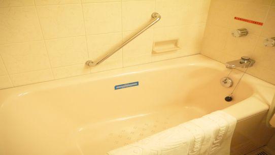 【バスルーム】★広めのバスルーム&入浴剤【バブ】のナチュラルな香りでリラックス気分の