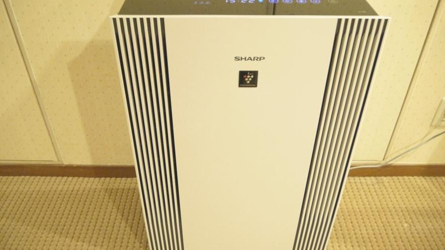 【喫煙フロアー廊下】加湿付空気清浄機