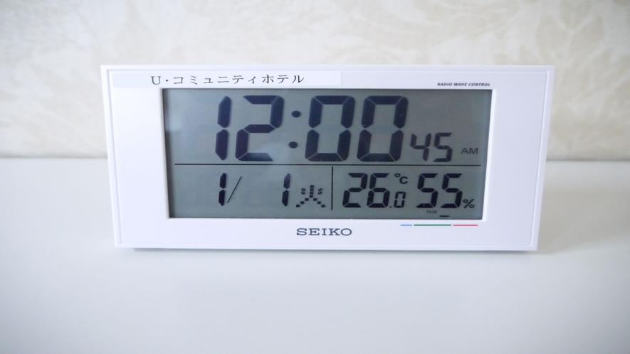 【目覚まし時計】貸出備品