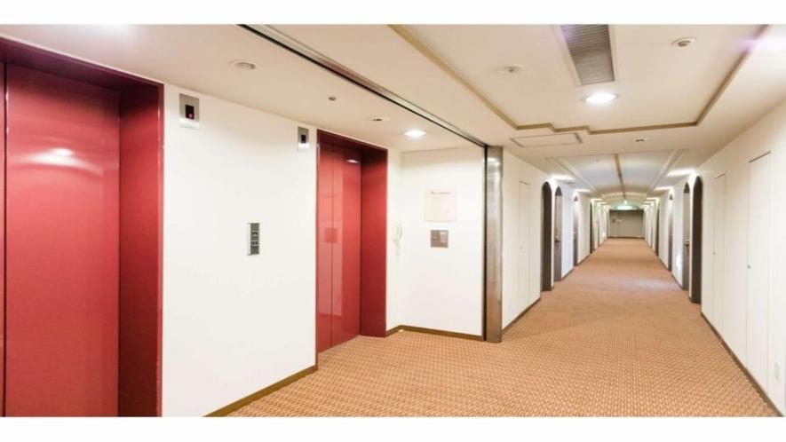 【各階フロア】エレベーター前
