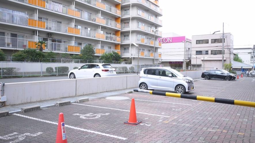 【駐車場】駐車台数45台 大型車2台(要予約)まで収容可能