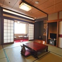 【南館・和室10畳】お部屋からの眺めも楽しんで頂けます♪