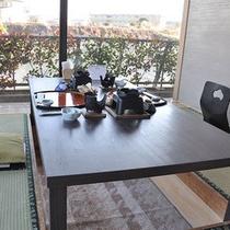 【和風食事処 ひきの】の個室スペース。