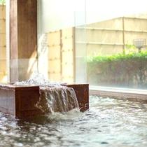 【白鷺湯】源泉掛け流しの温泉です。