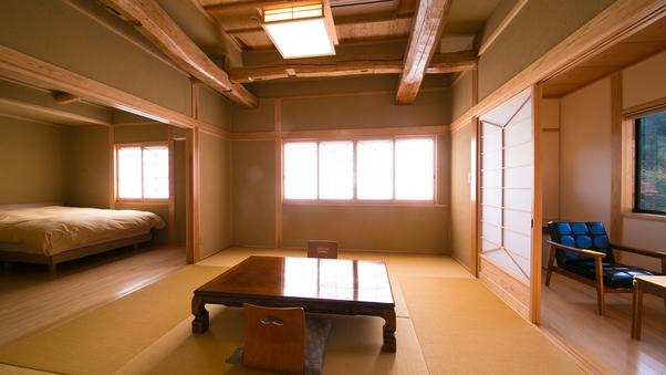 新館和洋室【飛鳥】かけ流し温泉内湯付和洋室