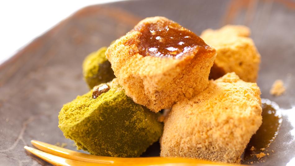 ■わらび餅■ 和のデザートをどうぞ。