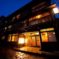 ■外観■明治創業の老舗旅館