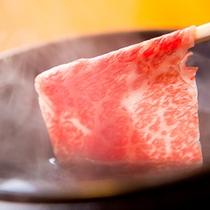 ■豊後牛しゃぶしゃぶ■ 肉の旨味の濃厚さをしゃぶしゃぶでいただく♪