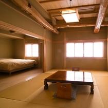 ■和洋室■飛鳥 心地の良い静かな空間で過ごす。