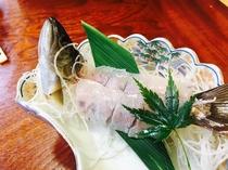 山女(ヤマメ)のお刺身