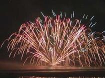 白浜海の祭典 水中花火