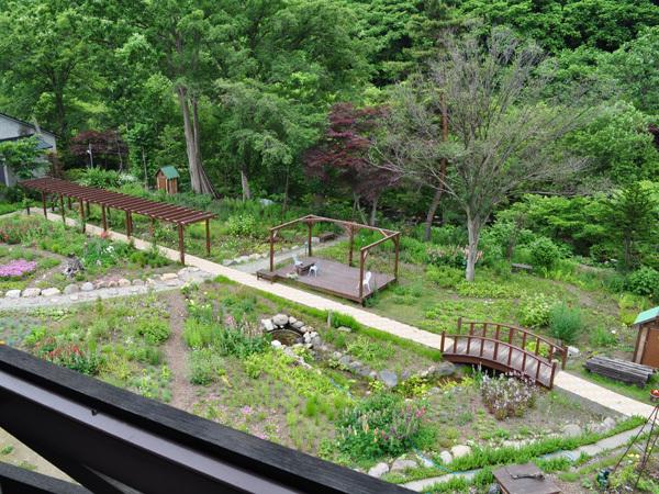 川側客室からの眺望