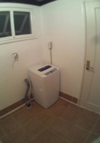 洗濯&乾燥部屋です。