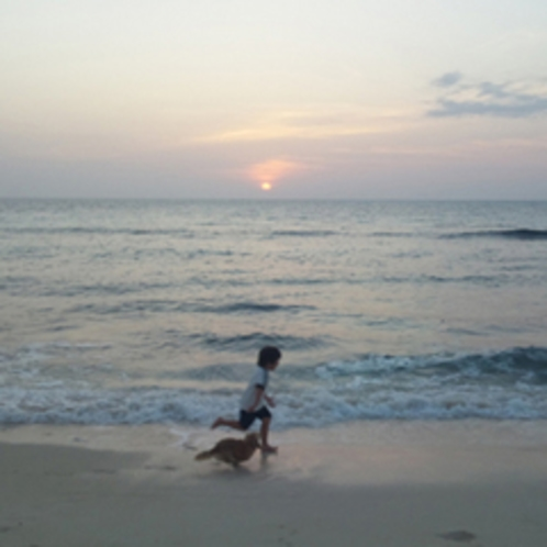 宮古島のビーチ