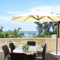 レストラン「La Terraza(ラ・テラーサ)」から眺める風景