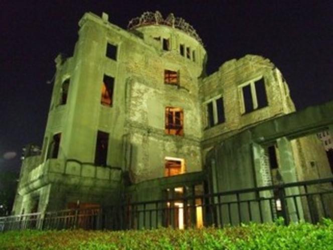 原爆ドーム(夜景)