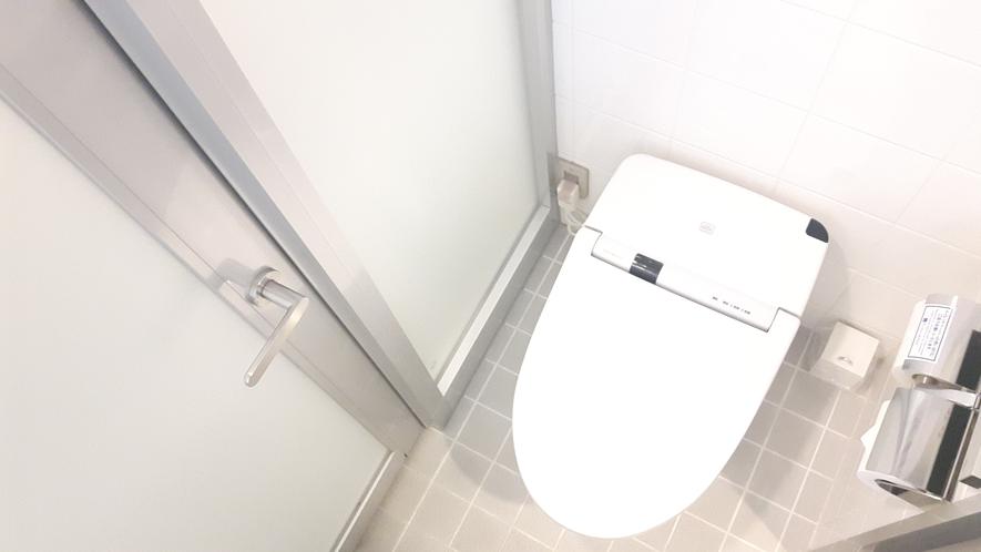▲シャワースタンダードルーム トイレ①