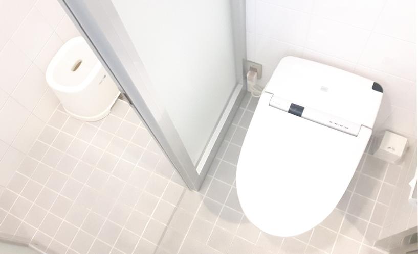 ▲シャワースタンダードルーム トイレ②