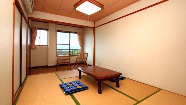 北九十九島が窓から見える本土最先端民宿●和室6畳●