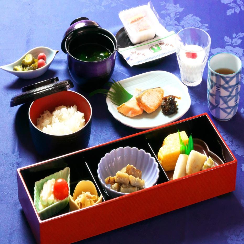 朝食:和定食※イメージ。季節によりメニューが変わります。