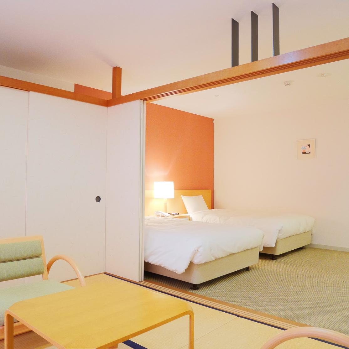 ◆新館和洋室4名定員バス・トイレ付