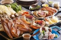 松葉蟹フルコース