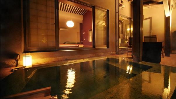 ◆野天風呂つき◇和洋室−106−◆<源泉かけ流し>【禁煙】