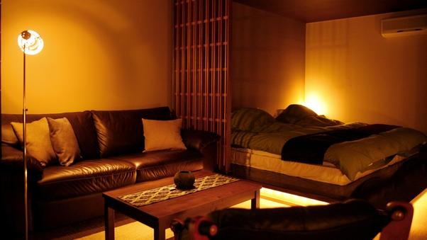 ◆野天風呂つき◇洋室−103−◆<源泉かけ流し>【禁煙】