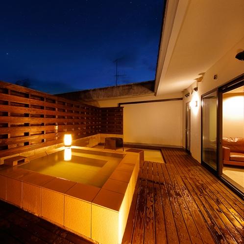 ◆露天風呂つき◇和洋室-212-◆≪源泉かけ流し_露天風呂≫