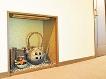 【客室廊下】温かい雰囲気の内観