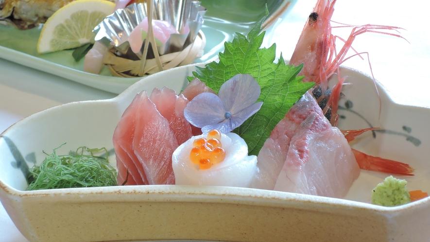 *【お料理】夕食一例。お刺身