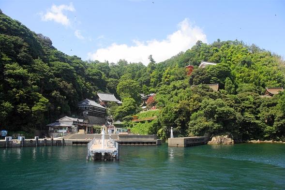 びわ湖に浮かぶパワースポット竹生島へ!長浜港発の竹生島クルーズ船チケット付プラン