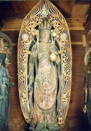 石道寺の観音様