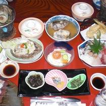 海の幸を中心としたお料理(例)
