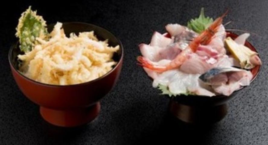 天丼と海鮮丼