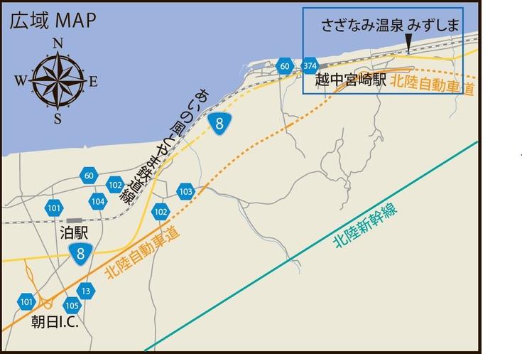 みずしま広域地図 【近藤代理】