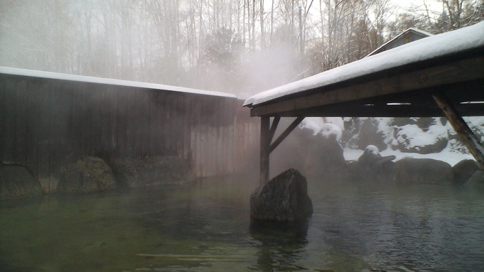 【年末年始スタンダードプラン】自慢の露天岩風呂☆美肌の湯 満喫プラン[朝食付] 【冬】