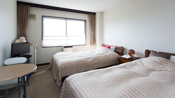 【禁煙】カジュアルツイン(洋室) 広さは畳で表現すると約6畳