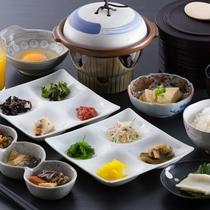 【朝食 一例】体にやさしい和食膳