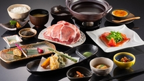 【夕食 一例】和食メインの創作膳(全11品)