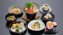 *日本料理 さくら「金目と茸の鍋会席」