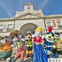 【観光】志摩スペイン村にはキャラクターもたくさん!