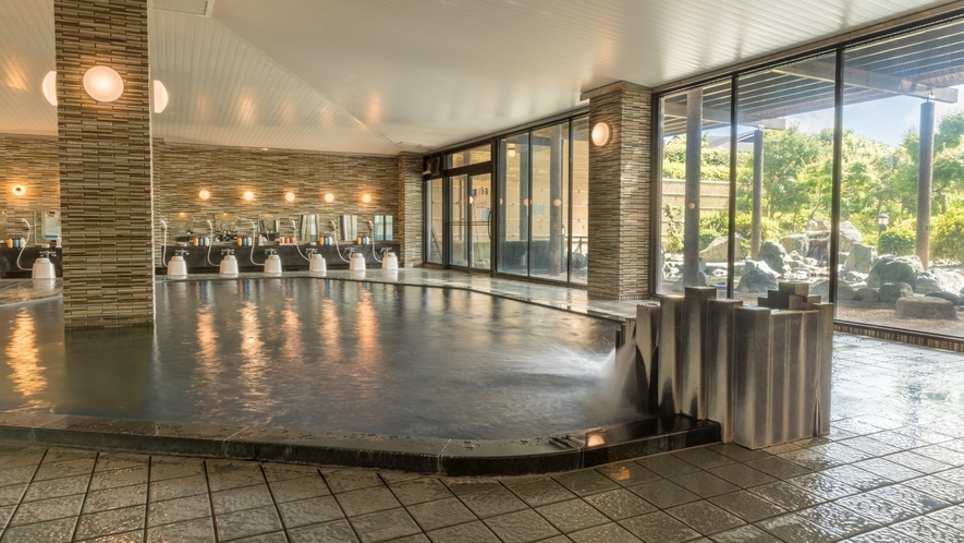 【大浴場イメージ】広々とした大浴場は5:30~10:00及び14:00~24:00となります。