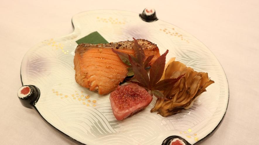 *夕食一例/焼き魚
