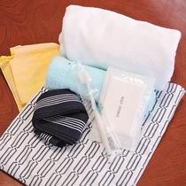*【アメニティ】浴衣、タオル、歯ブラシ